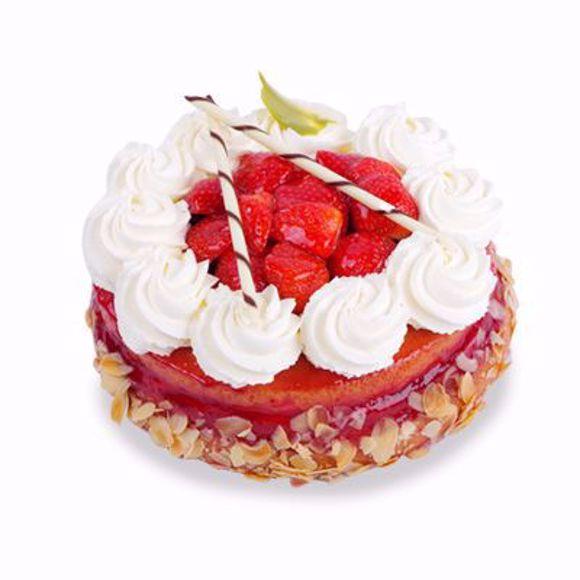 Afbeelding van Aardbei cake taart