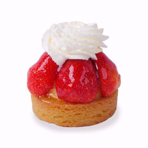 Afbeelding van Aardbeislof gebak